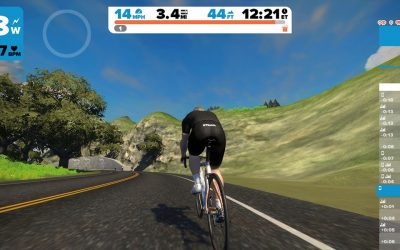 Zwift – a new way of indoor cycle training.