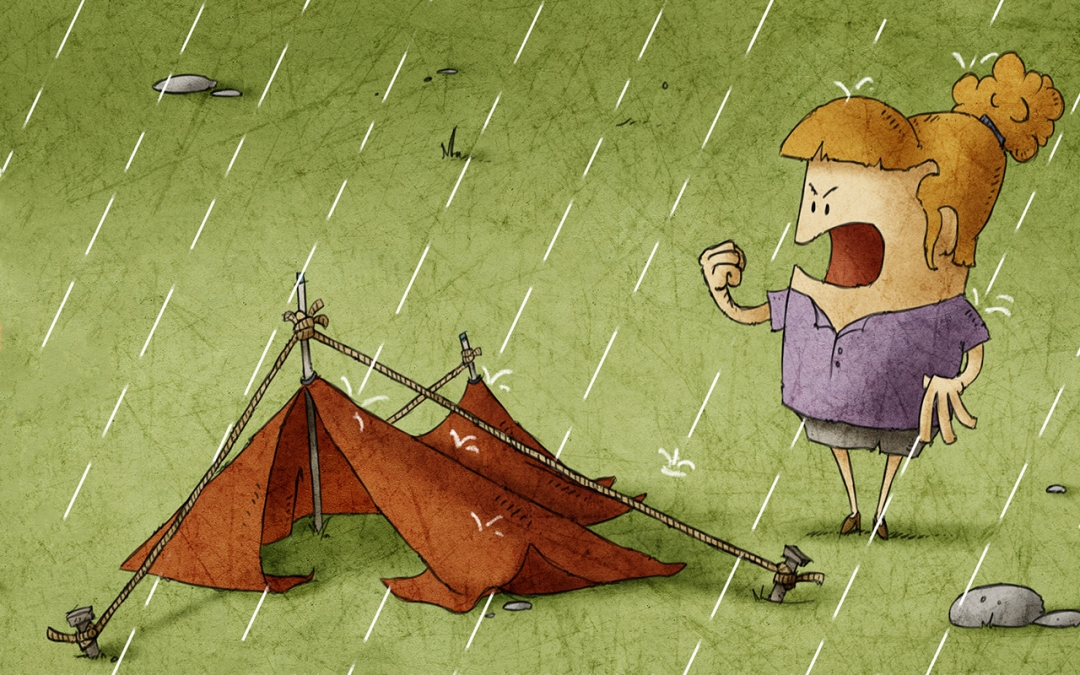 Staying Dry in Your Tent