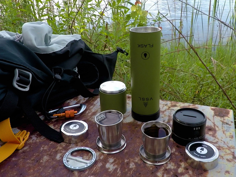 VSSL Flask & Flashlight