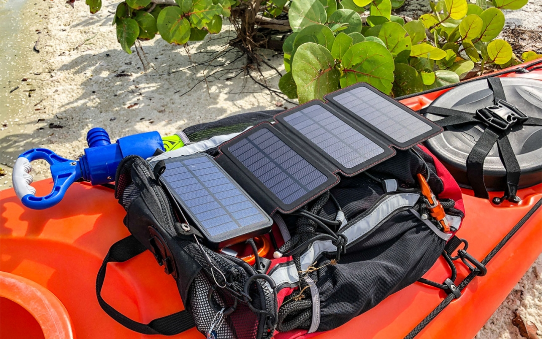 QuadraPro Solar Charger & Power Bank