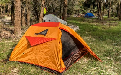 Kayak Camping on the Peace River
