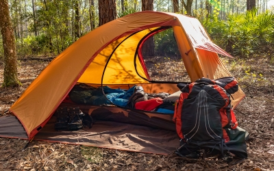 Backpacking Green Swamp East