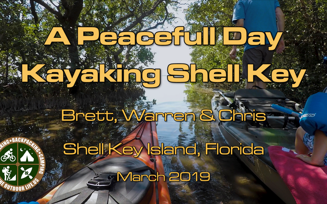 Kayaking Shell Key Florida