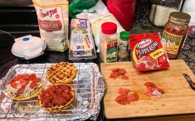 Pepperoni Pizza Chaffles